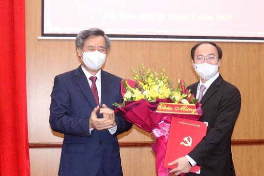 Điều động Phó Chánh Văn phòng Trung ương Đảng về làm Phó Bí thư tỉnh Bắc Kạn