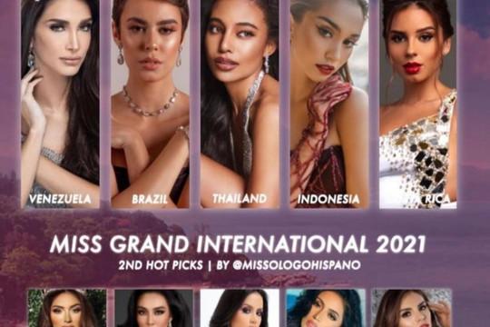 Nguyễn Thúc Thùy Tiên được dự đoán lọt Top 7 Miss Grand International 2021