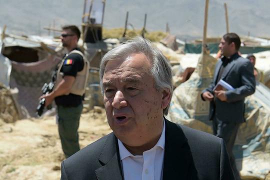 Tổng Thư ký Liên hợp quốc kêu gọi duy trì đối thoại với Taliban