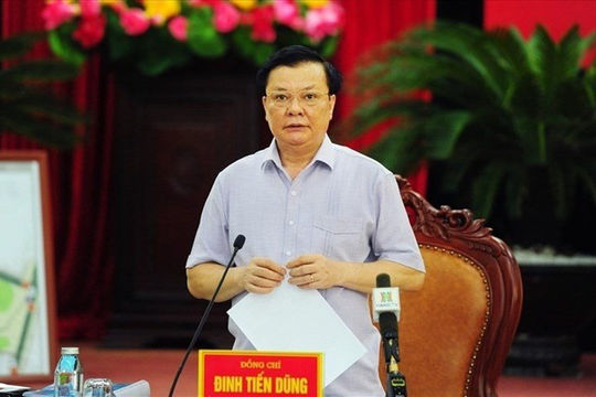 Bí thư Thành ủy Hà Nội Đinh Tiến Dũng: Thành quả của sức mạnh đoàn kết và chung ý chí quyết tâm