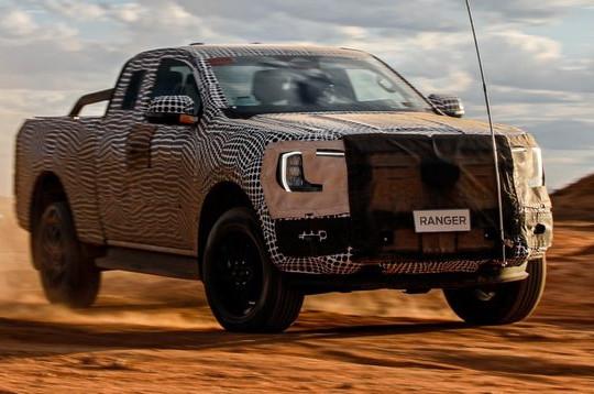 Lộ diện Ford Ranger thế hệ mới