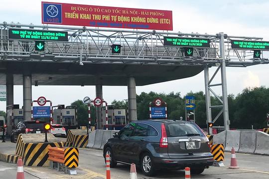 Cao tốc Hà Nội - Hải Phòng bắt đầu thu phí trở lại