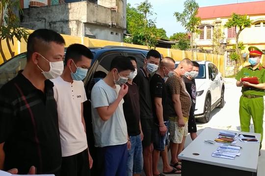 Hà Nam: Triệt phá ổ nhóm đánh bạc  cảnh giới bằng camera