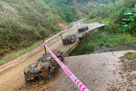 Kon Tum: Mưa lũ làm 1 người chết, nhiều công trình hạ tầng và diện tích cây trồng bị thiệt hại