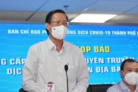 TP.HCM tiếp tục giãn cách xã hội theo Chỉ thị 16 đến cuối tháng 9