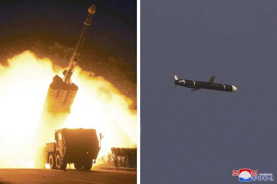 Triều Tiên thử thành công tên lửa hành trình tầm xa loại mới