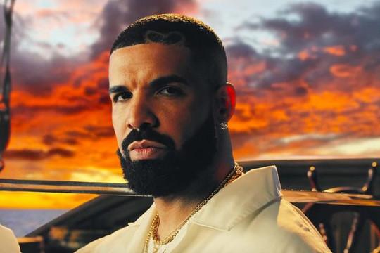 Drake độc chiếm top 5 trên BXH Billboard Hot 100