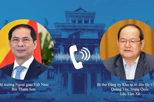 Tỉnh Quảng Tây (Trung Quốc) viện trợ Việt Nam 800.000 liều vaccine Sinopharm
