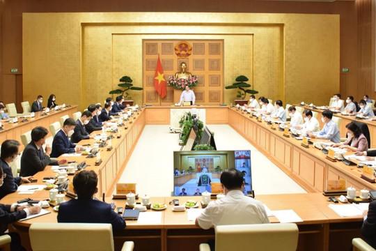 Thủ tướng và lãnh đạo bộ, ngành giải đáp, làm rõ kiến nghị của doanh nghiệp Hàn Quốc tại Việt Nam
