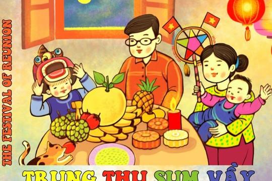"""""""Trung thu sum vầy"""" trưng bày trực tuyến tại Hoàng thành Thăng Long"""