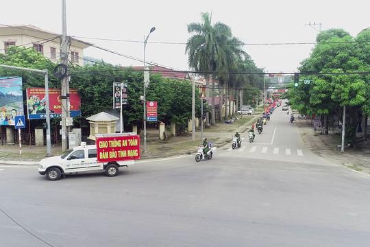 Định Hóa -Thái Nguyên: Tuyên truyền lưu động về an toàn giao thông
