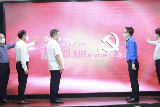 Khởi động cuộc thi tìm hiểu Nghị quyết ĐH Đảng XIII trong thanh niên Việt Nam