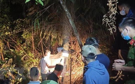 Điều tra vụ việc người phụ nữ tử vong trong rừng