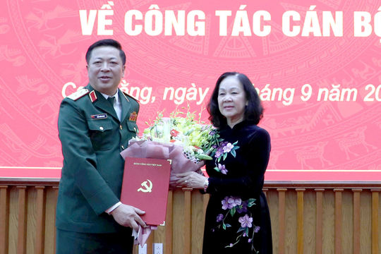 Bộ Chính trị điều động Trung tướng Trần Hồng Minh làm Bí thư tỉnh Cao Bằng
