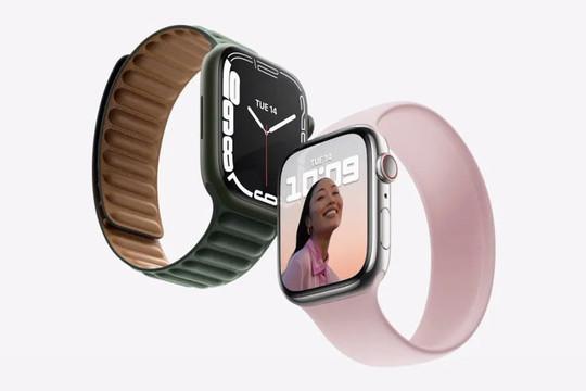 Apple Watch series 7 ra mắt, giá khởi điểm 399 USD