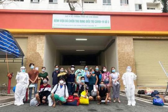 TP.HCM: Hơn 6.200 bệnh nhân Covid-19 tại BV dã chiến số 3 được xuất viện
