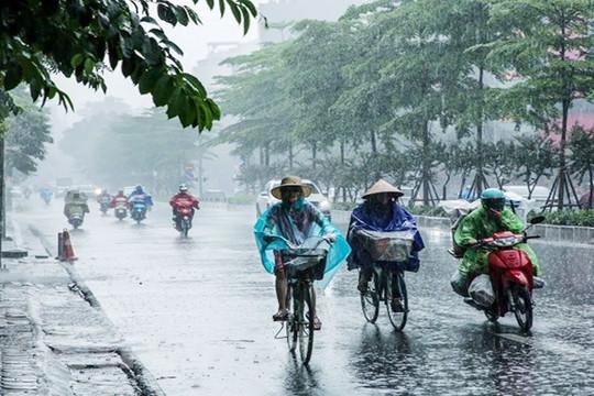 Bắc Bộ và Bắc Trung Bộ có mưa dông rải rác, đề phòng sét, mưa đá