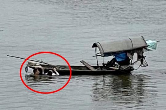 Thượng uý quân đội kịp thời cứu người đuối nước trên sông Đáy