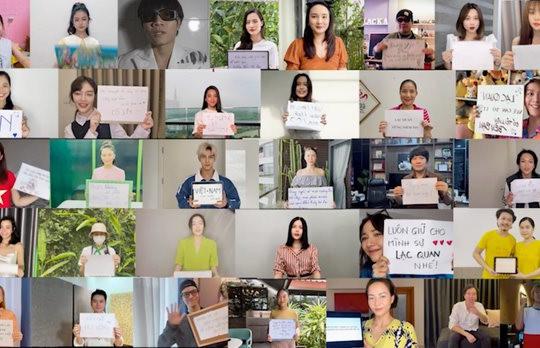"""Thông điệp ý nghĩa của hơn 30 sao Việt trong MV """"Sẽ Không Ai Bị Bỏ Lại Phía Sau"""""""