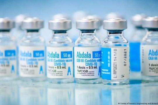 Nghị quyết của Chính phủ về mua vaccine Abdala do Cuba sản xuất