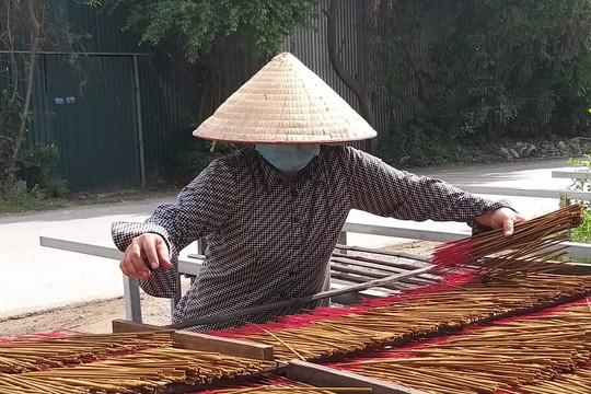 Làng tăm hương Quảng Phú Cầu phục hồi sản xuất sau giãn cách