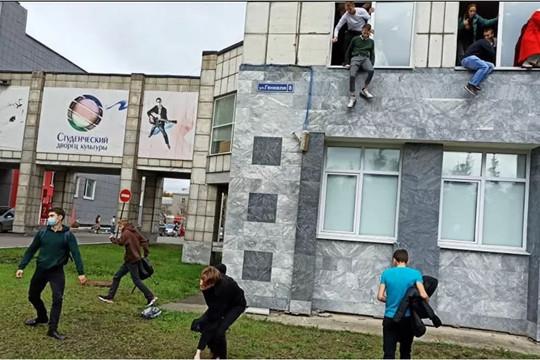 Xả súng tại trường đại học ở Nga, 32 người thương vong