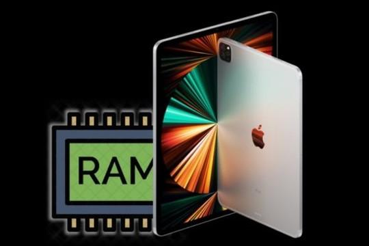 iPadOS 15 tăng giới hạn RAM cho các ứng dụng