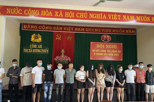 Thừa Thiên Huế: Sử dụng ma túy trong nhà nghỉ