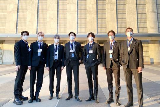 Bài phát biểu của BTS tại Liên Hợp Quốc làm giới trẻ trên toàn cầu tự hào