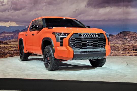 Toyota Tundra 2022 trình làng thách thức Ford F-150