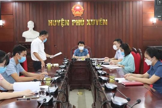 Sáng tạo trong ứng dụng công nghệ vào phòng dịch ở Phú Xuyên