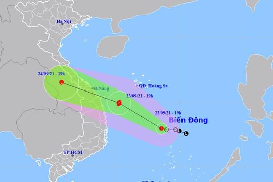 ATNĐ có khả năng mạnh lên thành bão, di chuyển nhanh vào đất liền