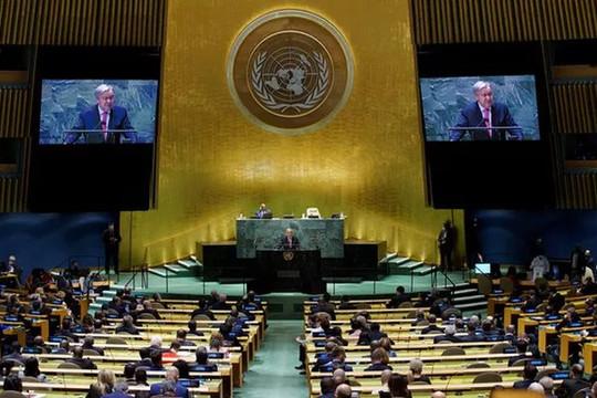 Chủ tịch nước và đại diện 193 quốc gia dự khai mạc Phiên thảo luận chung cấp cao Liên hợp quốc