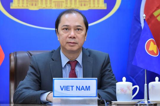 Việt Nam chủ trì Hội nghị tham vấn chung ASEAN