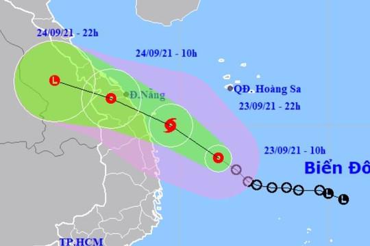 Công điện về ứng phó với với ATNĐ có khả năng mạnh lên thành bão
