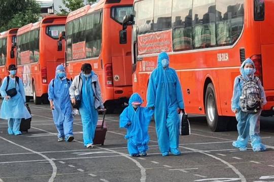 Công dân Phú Yên an lòng được đón về quê hương tránh dịch Covid-19