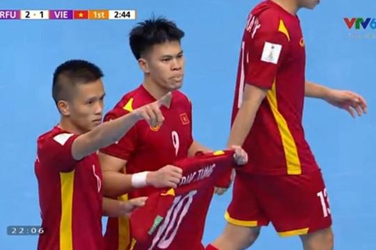 Thua trước Nga, nhưng futsal Việt Nam đã làm nên kỳ tích tại FIFA Futsal World Cup