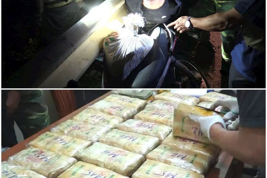 """Tử hình đối tượng mua bán """"lô ma túy"""" có giá hàng tỷ đồng"""
