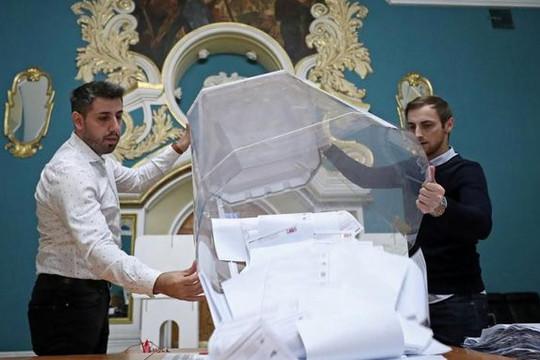 Tin vắn thế giới ngày 25/9: Đảng Nước Nga Thống nhất cầm quyền duy trì đa số tại bầu cử Duma Quốc gia