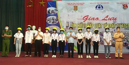 Thái Nguyên: Tuyên truyền An toàn giao thông, phòng chống tội phạm, ma tuý năm học 2021 -2022