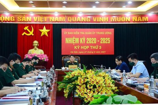 Ủy ban Kiểm tra Quân ủy Trung ương đề nghị kỷ luật đối với 1 tổ chức và 14 quân nhân