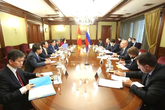Bộ trưởng Ngoại giao Bùi Thanh Sơn hội kiến với Phó Thủ tướng Nga