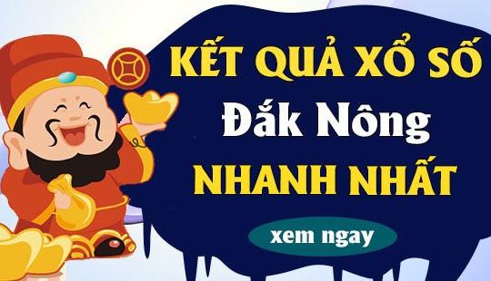 XSDNO 2/10 – KQXSDNO 2/10 – Kết quả xổ số Đắk Nông ngày 2 tháng 10 năm 2021