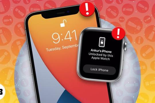 Tính năng mở khóa bằng Apple Watch trên iPhone 13 gặp lỗi