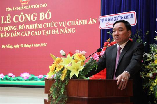 Trao Quyết định bổ nhiệm Chánh án TAND cấp cao tại Đà Nẵng