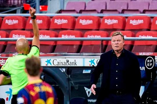 Barca rối loạn vì Koeman - Laporta: Vì đâu nên nỗi?
