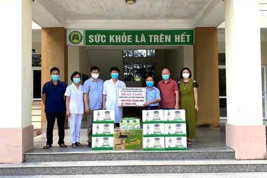 Thăm, tặng quà lực lượng y tế Bệnh viện điều trị Covid số 1 tỉnh Thanh Hoá