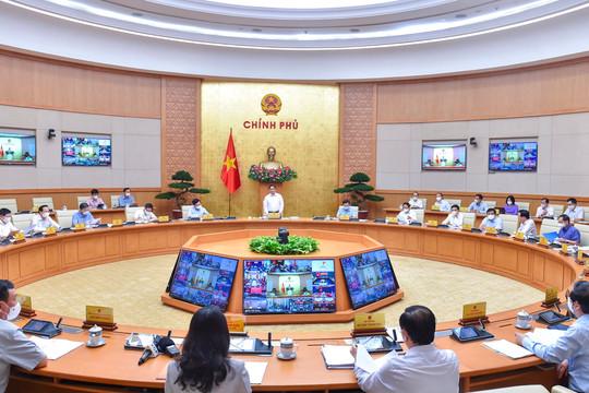 Phiên họp Chính phủ tháng 9: Góp ý dự thảo thích ứng an toàn, linh hoạt và hiệu quả với COVID-19