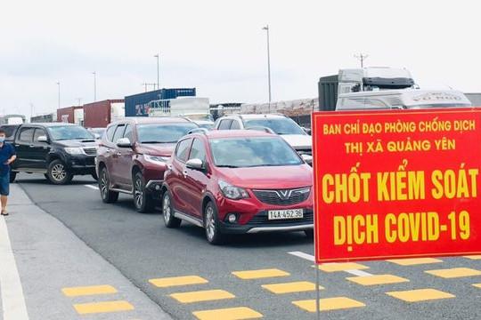 """Điều kiện để vào Quảng Ninh sau hơn 70 ngày """"vắng bóng"""" F0 trong cộng đồng"""