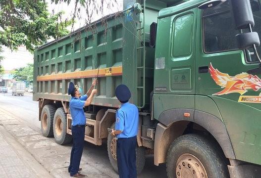 Thái Nguyên: Xử lý vi phạm tải trọng xe trên 2 tuyến quốc lộ 3 và 37